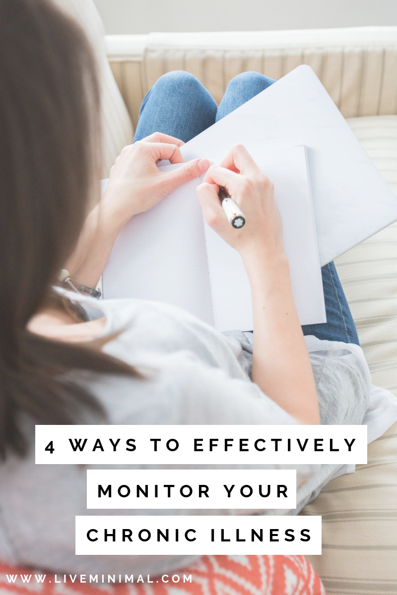 4 ways to effectively monitor your chronic illness