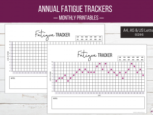 Monthly Fatigue Tracker