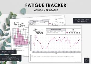 LiveMinimalPlanners Fatigue Trackers