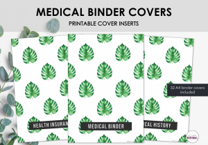 LiveMinimalPlanners Binder Covers