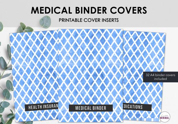 LiveMinimalPlanners Binder Covers