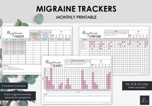 LiveMinimalPlanners Migraine Tracker