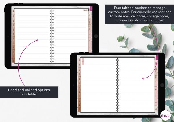 LiveMinimalPlanners Digital Planner