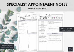 LiveMinimalPlanners Specialist Notes