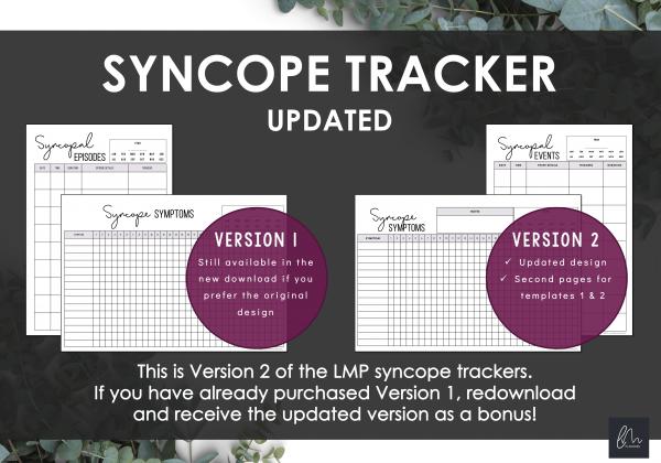 LiveMinimalPlanners Syncope Tracker