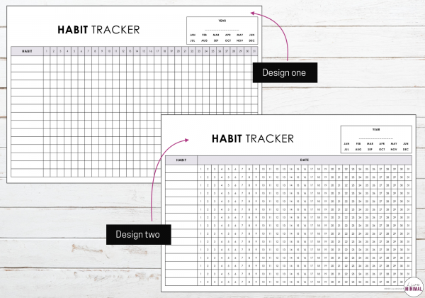 Habit Tracker Minimalist
