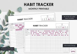 Minimalist Habit Tracker