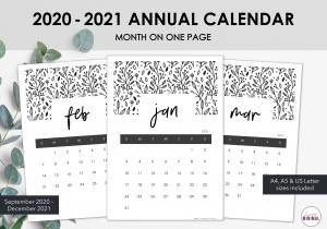 LiveMinimalPlanners 2021 Calendar Listing Photos 1-1