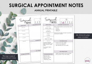 LiveMinimalPlanners Surgical Notes