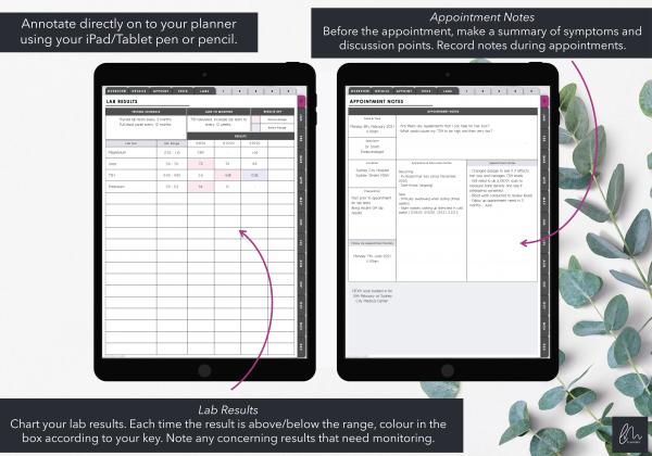 LiveMinimalPlanners Digital Specialist Notes Planner
