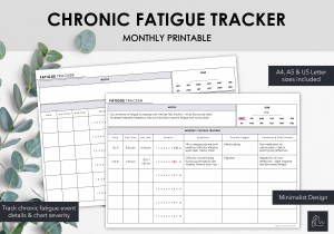 LiveMinimalPlanners Fatigue Tracker