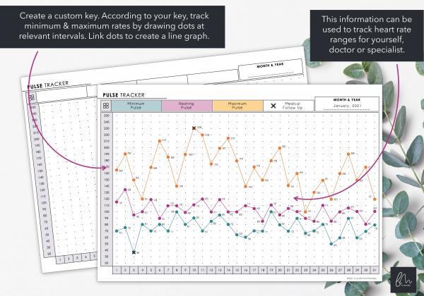 LiveMinimalPlanners Pulse Range Tracker