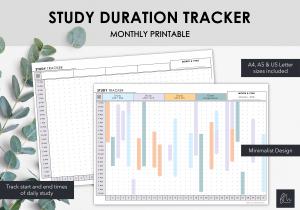 LiveMinimalPlanners Study Duration Tracker