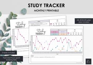 LiveMinimalPlanners Study Tracker