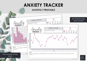 LiveMinimalPlanners Anxiety Tracker