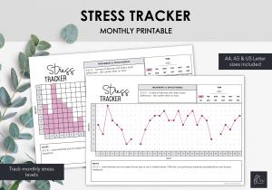 LiveMinimalPlanners Stress Tracker